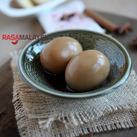 Chinese Braised Soy Sauce Eggs