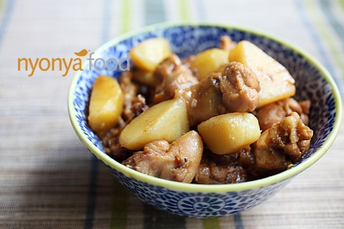 Ayam Pongteh (Nyonya Chicken and Potato Stew) | Easy Asian Recipes | rasamalaysia.com