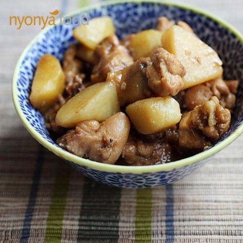 Nyonya Chicken and Potato Stew