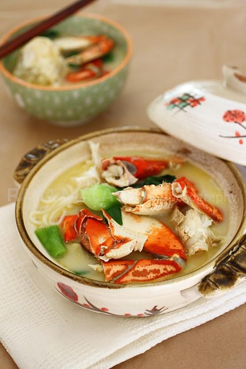Singapore recipes easy delicious recipes crab bee hoon crab noodles forumfinder Gallery