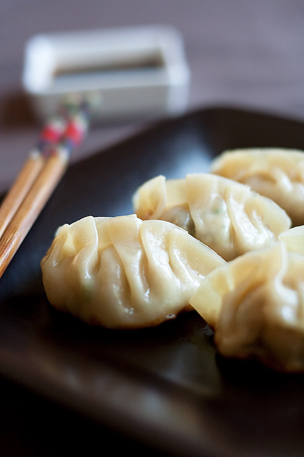 Gyoza Recipe - Gyoza are Japanese dumplings. Learn how to make the best gyoza with this quick & easy recipe that takes only 20 minutes | rasamalaysia.com