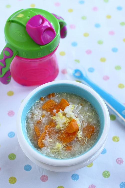 Baby Porridge - this is a simple, versatile recipe that your baby is sure to love! | rasamalaysia.com