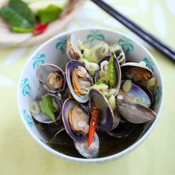 Thai-style Steamed Clams