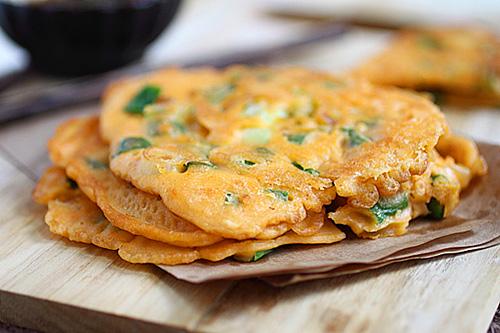 Easy Korean Scallion Pancake Recipe