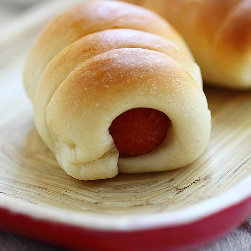 Pigs in a blanket sausage rolls