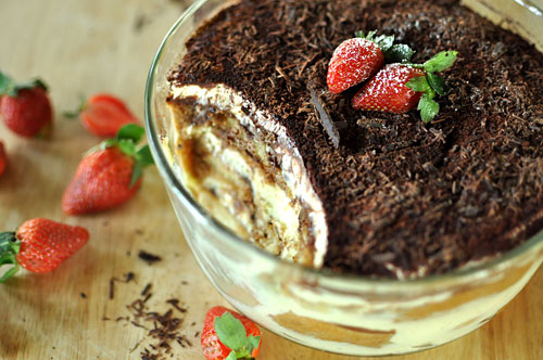 Heavenly Eggless Tiramisu – Eggless Tiramisu Recipe by Hunger Hunger Blog | rasamalaysia.com