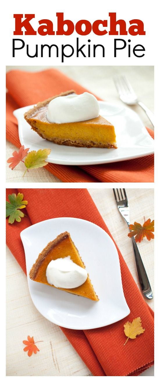 Kabocha Pumpkin Pie – make a twist to your pumpkin pie this year with kabocha pumpkin which is sweeter and better | rasamalaysia.com