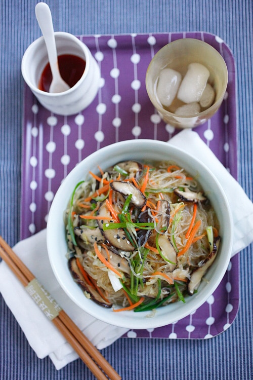 Easy and delicious vegetable fried noodles recipe.