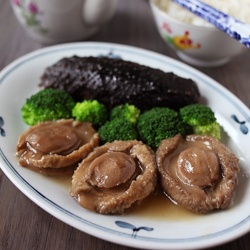 Braised Abalone with Sea Cucumber Recipe | rasamalaysia.com