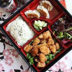 Japanese Fried Chicken Bento