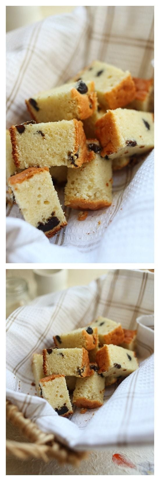 Brandy Butter Cake with Prunes – Rich, moist, sweet, and super buttery butter cake with splashes of brandy plus dried prunes. You just have to make this. | rasamalaysia.com