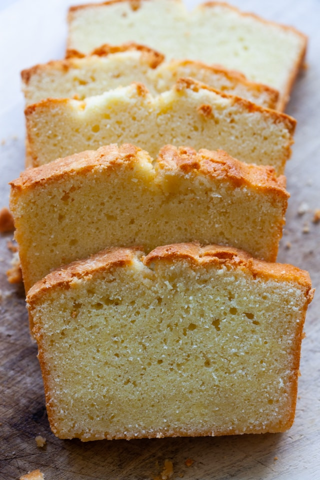 Easy pound cake recipe.