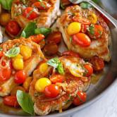 Sauté Pork with Tomatoes