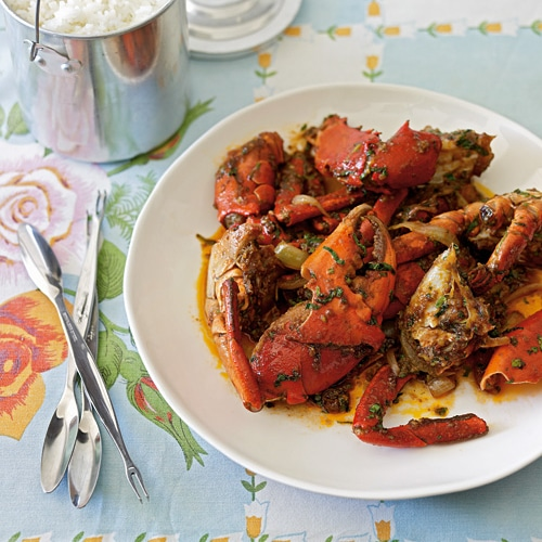 Crab with tamarind and chili or Cua Rang Me is a coastal Vietnamese recipe. Easy recipe with step-by-step photo guide how to prepare live crab.   rasamalaysia.com