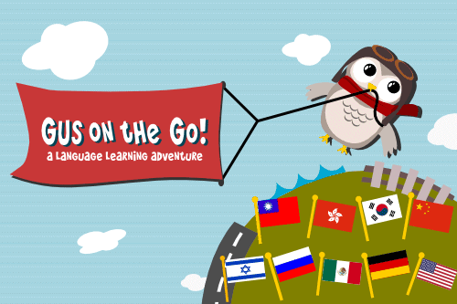 Gus on the Go, a Language Learning App