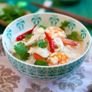 Coconut Lime Noodle Soup