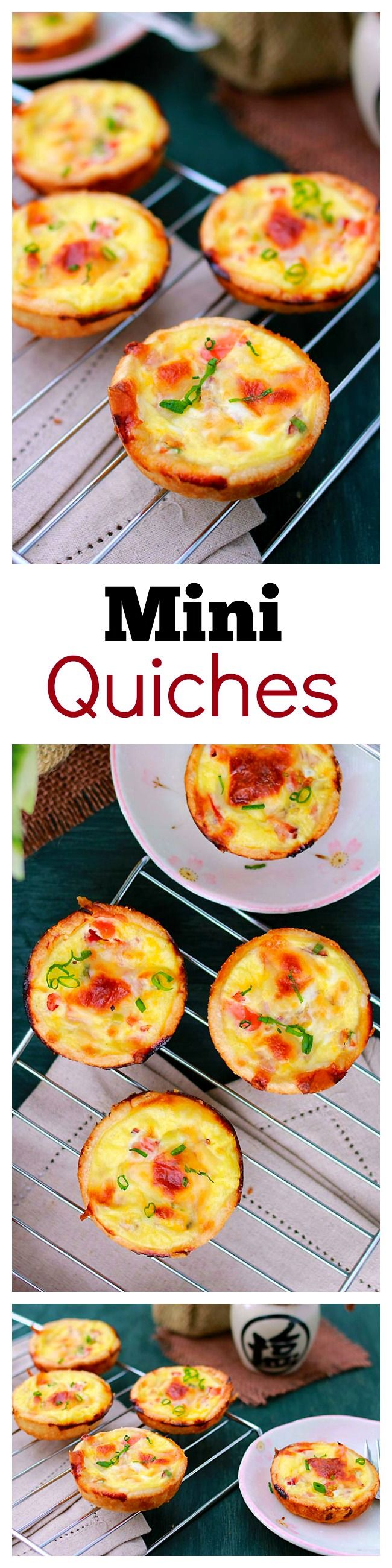 Mini Quiche Extra Ham And Cheese Rasa Malaysia