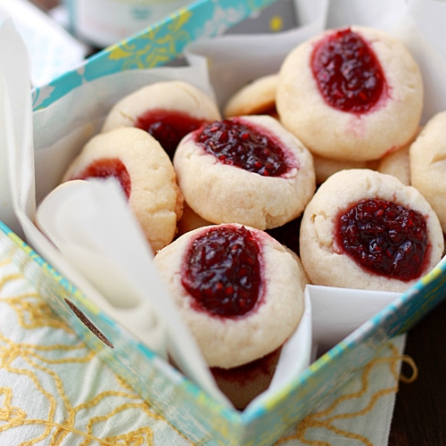 Thumbprint Cookies - Best, buttery and sweet cookies filled with raspberry jam. Easy recipe that anyone can make this holiday season   rasamalaysia.com