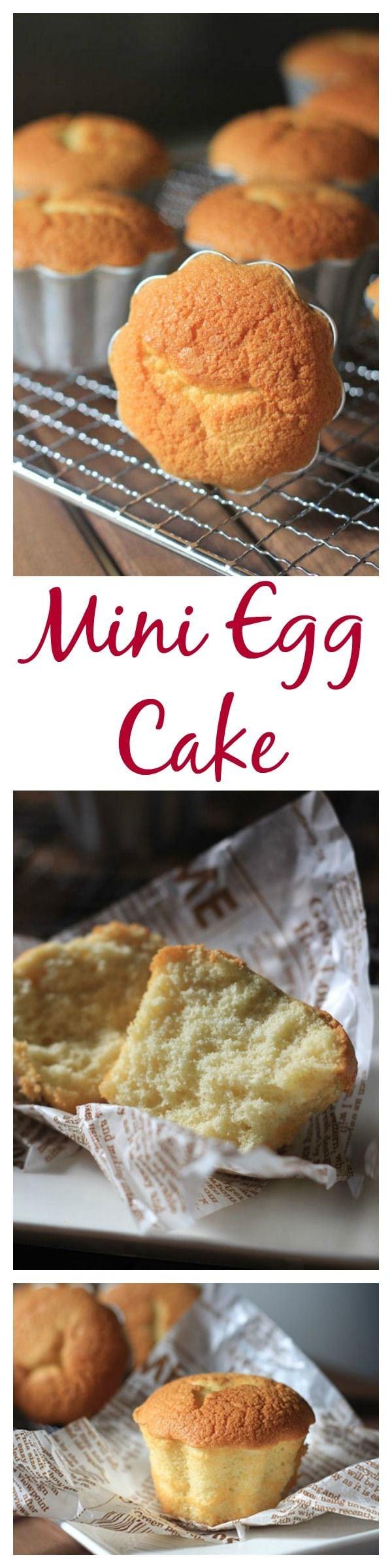 Whole Egg Sponge Cake Recipe