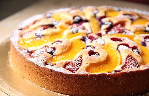 Fruit Pastry Cake Easy Delicious Recipes