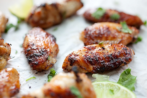 Lemongrass chicken wings - marinate the wings with lemongrass & Asian seasonings for the best party wings ever   rasamalaysia.com