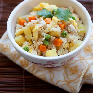 Chicken and Pineapple Fried Rice