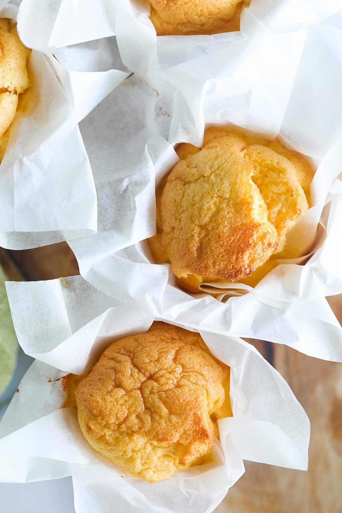 Fluffy sponge cake recipe.