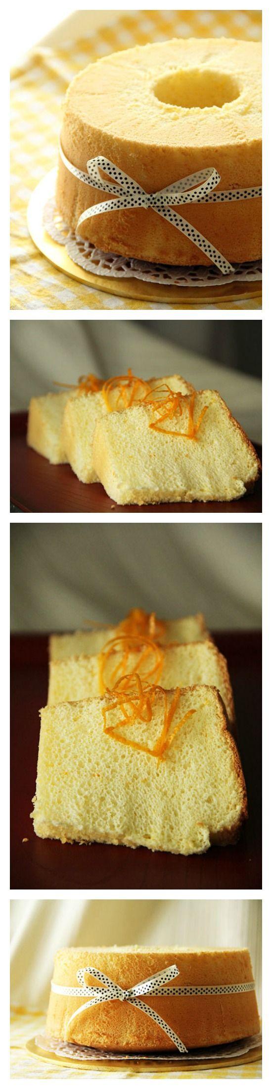 The Cake Walk Orange
