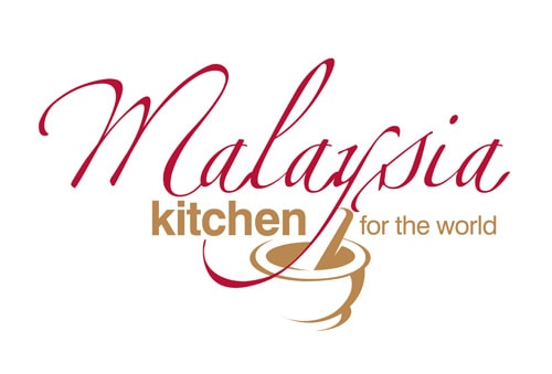 Malaysian kitchen for the world logo.