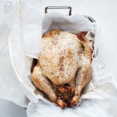 Roasted Turkey in Parchment Paper