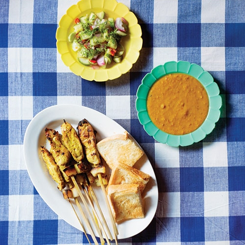 Thai Pork Satay