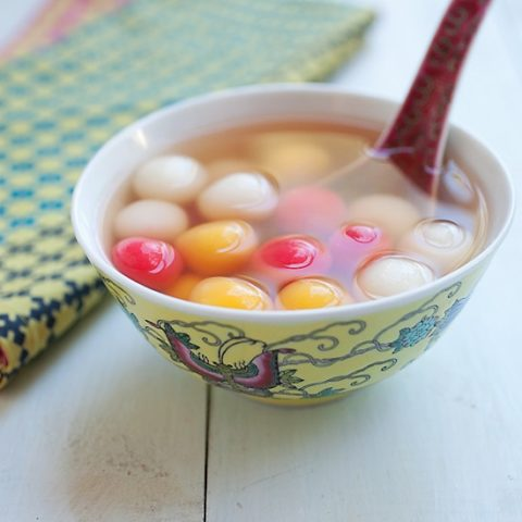 Dongzhi Tang Yuan (Sweet Dumplings) Recipe