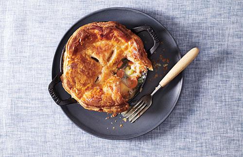 Easy and delicious chicken potpie.