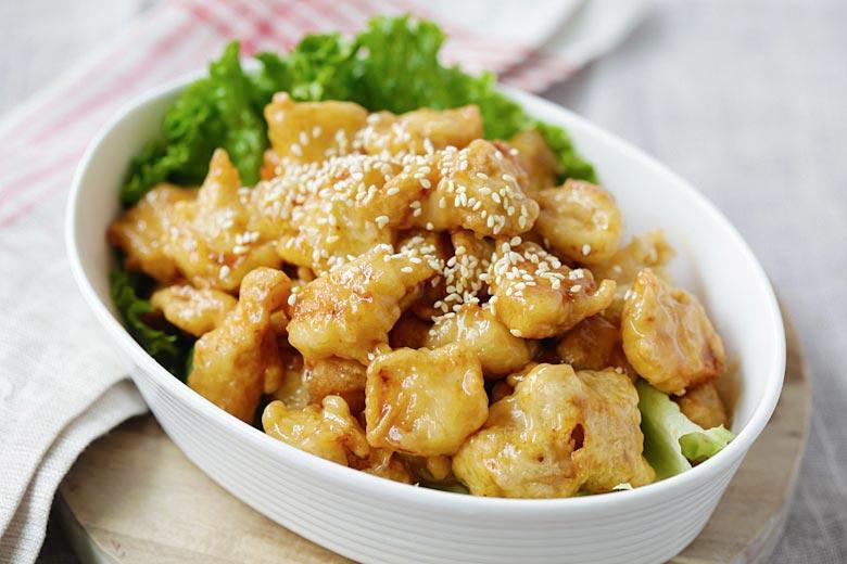 Honey Lemon Chicken