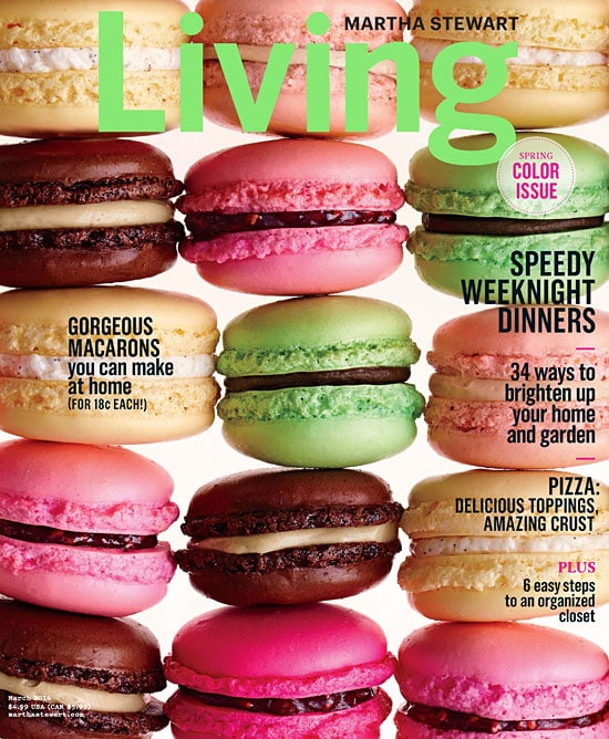 Living by Martha Steward cookbook.
