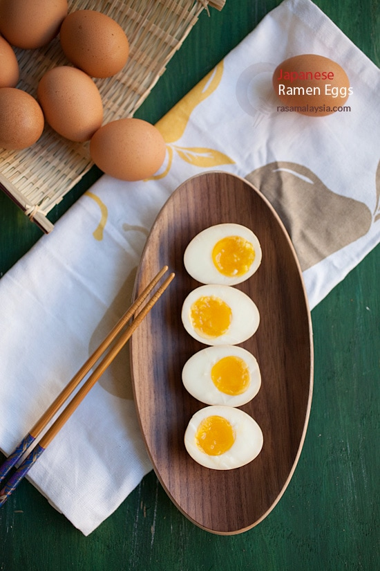 How to make Japanese Ramen Eggs (ajitsuke tamago), super easy recipe that gives delicious and runny eggs.