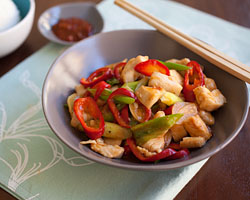 Spicy Chicken Stir-fry (辣子鸡丁)
