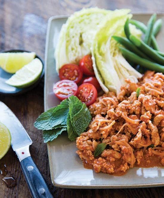 Thai Minced Chicken Salad Easy Delicious Recipes