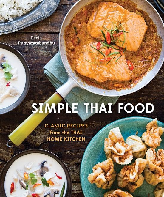 Northeast Minced Chicken Salad from Simple Thai Food cookbook.