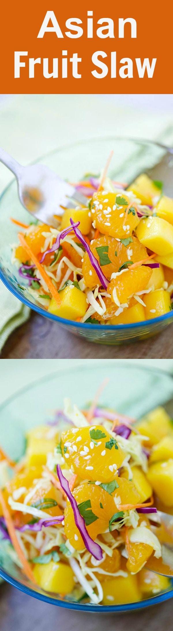 Asian Fruit Slaw Rasa Malaysia
