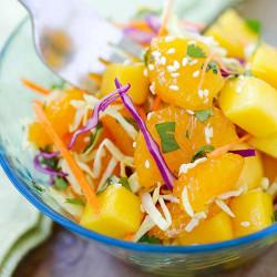 Asian Fruit Slaw