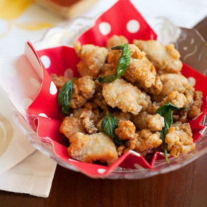 Taiwanese Salt and Pepper Chicken