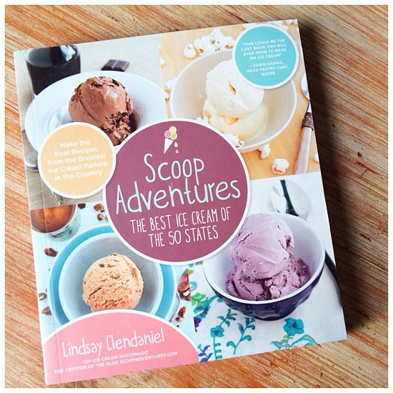 Scoop Adventures ice cream cookbook.