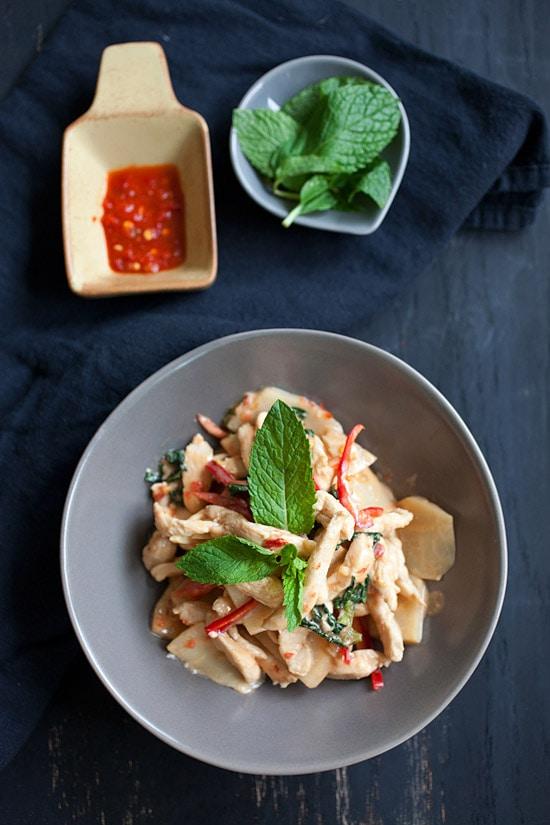 Easy and quick Thai Chili Chicken Recipe.