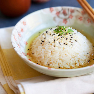 Green Tea Rice