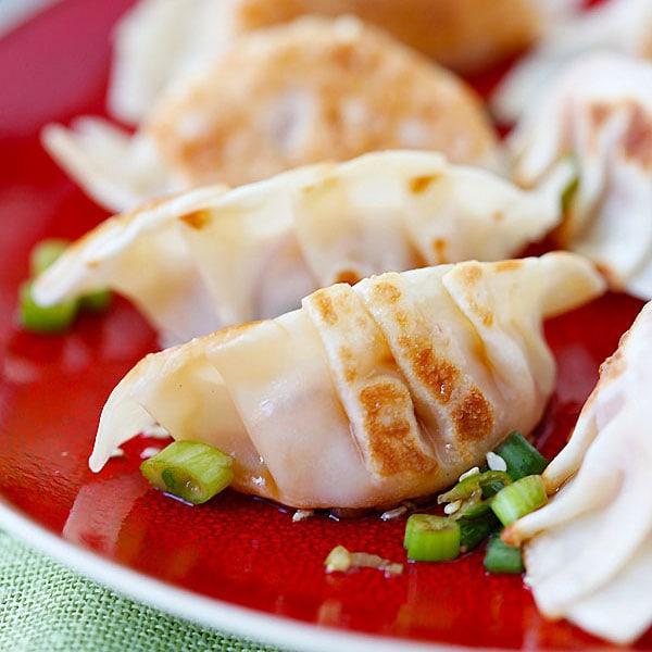 Kimchi Dumplings