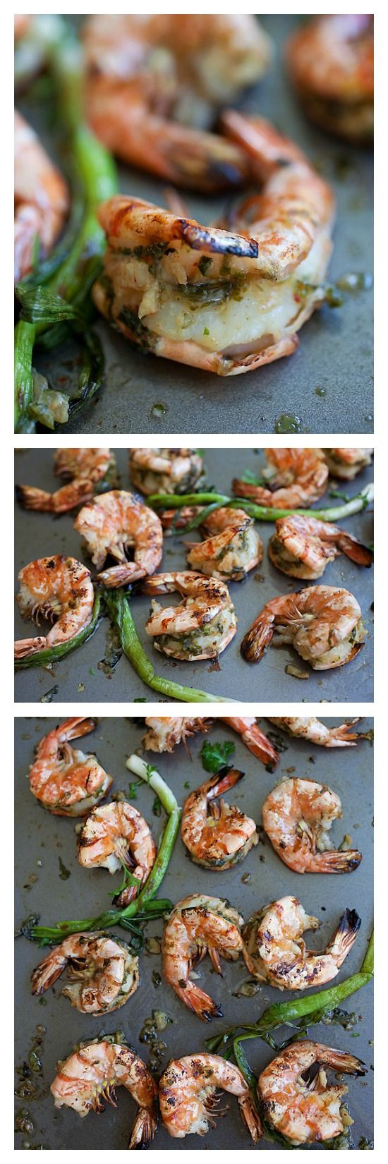 Miso butter grilled shrimp. Make a bunch of these yummylicious shrimp ...