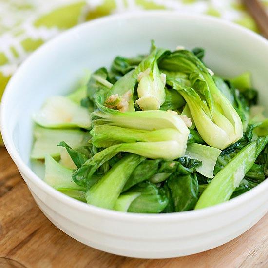 Garlic Bok Choy