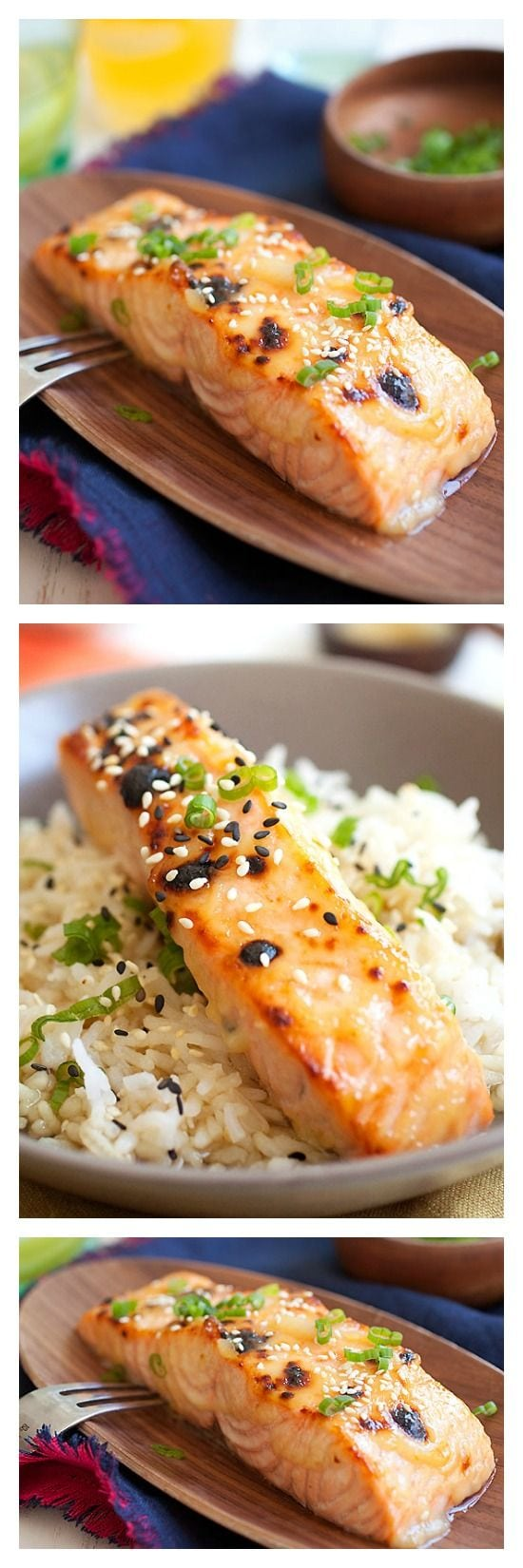 Miso-Glazed Salmon | Easy Delicious Recipes