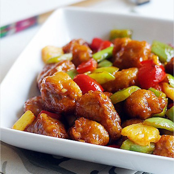 Authentic sweet and sour pork recipe that is better than your favorite Chinese restaurants